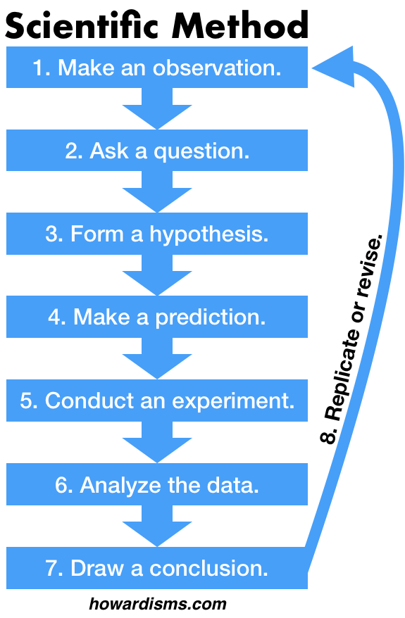scientific method steps and definitions